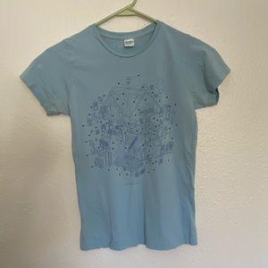 Threadless Contemporary Living Diagram T-Shirt